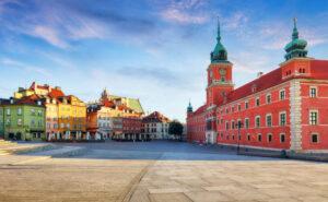 Miasto w Warszawie